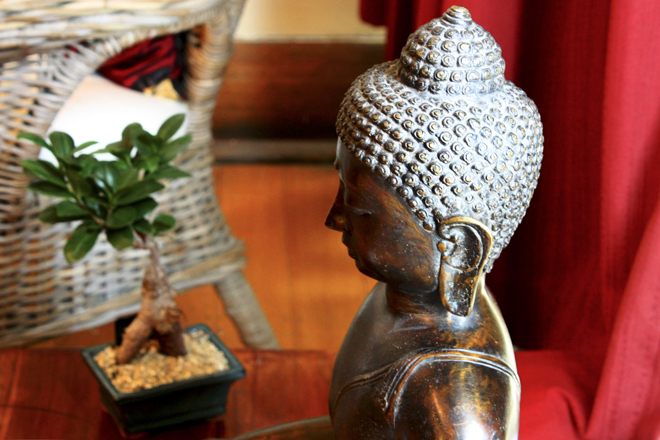 Buddha in the therapy room